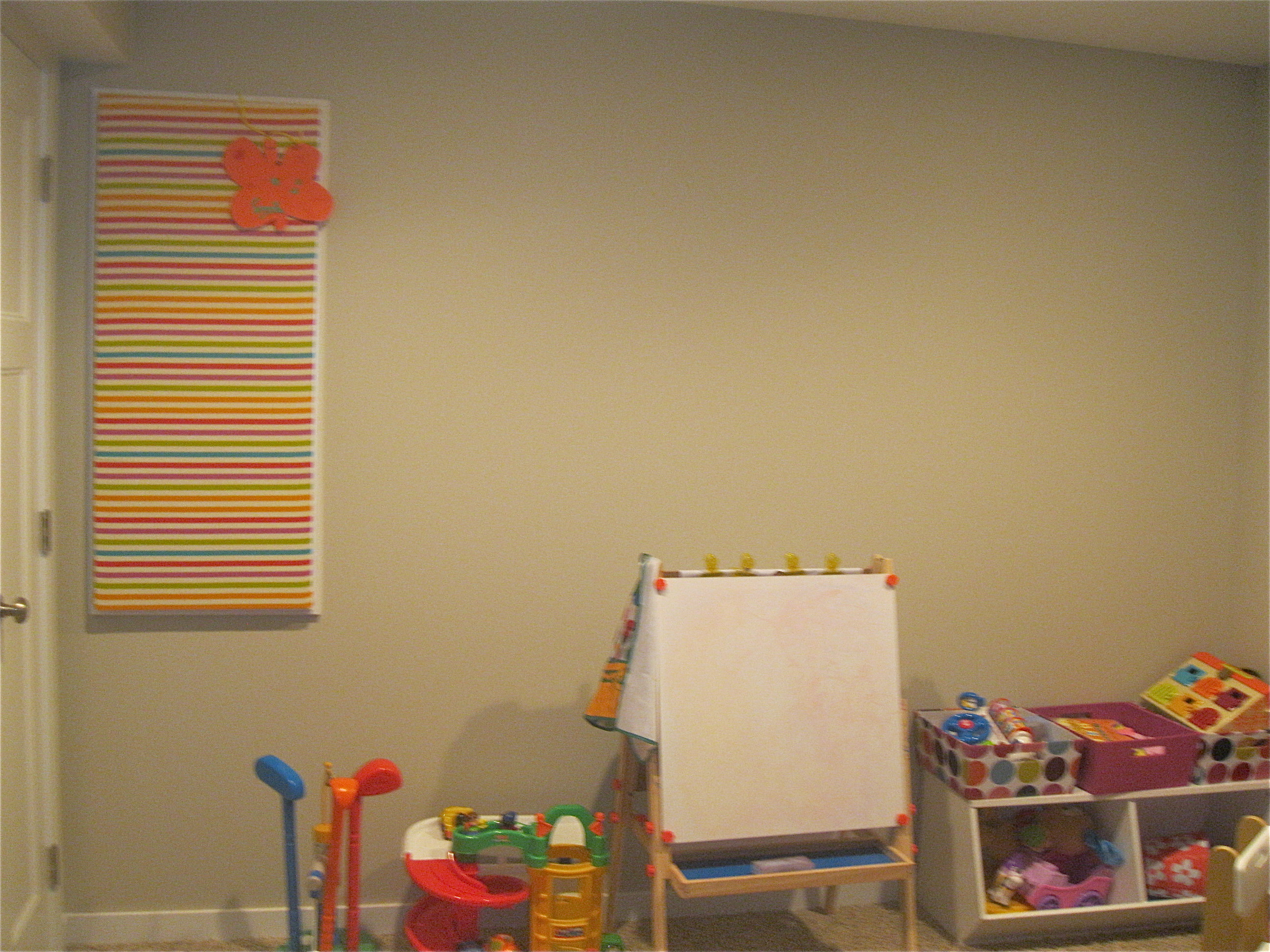 playroom wall decor | Feathering Our Nest